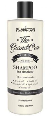 Plancton The Grand Cru Shampoo Liso Absoluto - 500ml