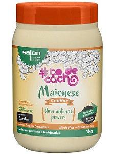 Maionese Capilar #ToDeCacho - Uma Nutrição Power Salon Line - 1kg