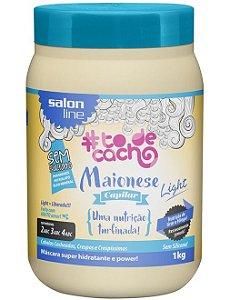 Maionese Capilar #ToDeCacho Light - Uma Nutrição Turbinada Salon Line - 1kg