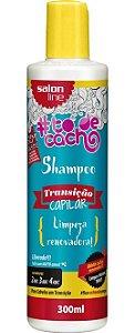 Shampoo Transição Capilar #ToDeCacho - Limpeza Renovadora! Salon Line - 300ml