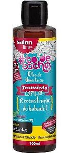 Óleo de Umectação Transição Capilar #ToDeCacho - Reconstrução do Babado! Salon Line - 100ml