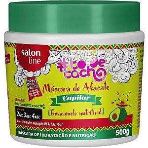 Máscara de Abacate Capilar #ToDeCacho - Guacamole Nutritiva! Salon Line - 500g