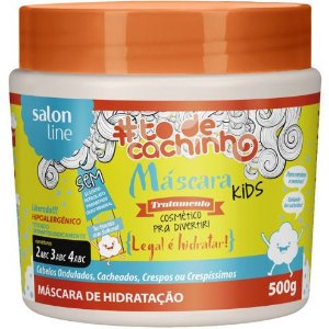 Máscara Kids #ToDeCachinho - Legal é Hidratar! Salon Line - 500g