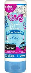 Mega Ampola Sopa de Letrinhas #ToDeCacho - H de Hidratação! Salon Line - 200ml