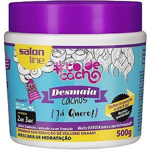 Máscara Desmaia Cachos #ToDeCacho - Já Quero! Salon Line - 500g