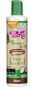 Shampoo de Coco #ToDeCacho - Limpeza Irresistível! Salon Line - 300ml