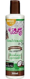 Condicionador de Coco #ToDeCacho - Desembaraço Apaixonante! Salon Line - 300ml