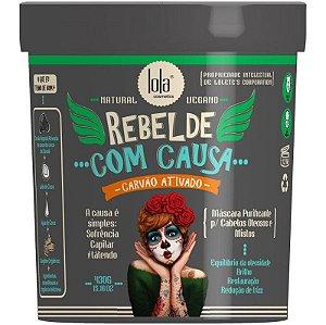 Rebelde com Causa Máscara Purificante e Restauradora Lola Cosmetics - 450g