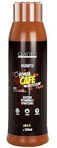 Glatten Bomba de Café - Shampoo Estimulante Capilar 2 em 1 - 300ml