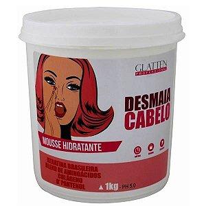 Glatten Desmaia Cabelo - Mousse Hidratante - 1kg