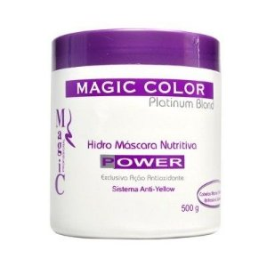 Hidro Mascara Nutritiva Magic Color Power - 500g