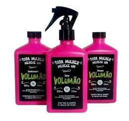 Kit Volumão Lola - Shampoo + Condicionador + Spray