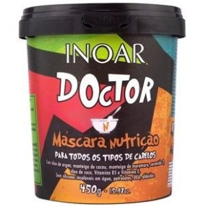 Inoar Doctor Máscara Nutrição - 450g