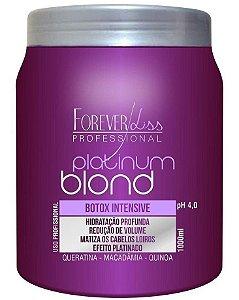 Platinum Blond Botox Matizador Intensive Forever Liss - 1Kg