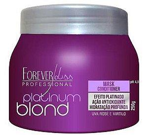 Platinum Blond Máscara Matizadora Forever Liss - 250g