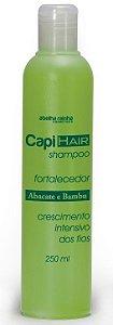 Capi Hair Shampoo Fortalecedor Abacate e Bambu - Crescimento Intensivo dos Fios - 250ml
