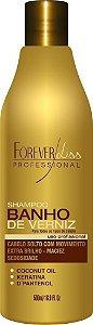 Banho de Verniz Shampoo Extra Brilho Forever Liss - 500ml