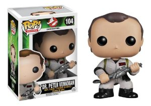 Ghostbusters Dr. Peter venkman Funko Pop