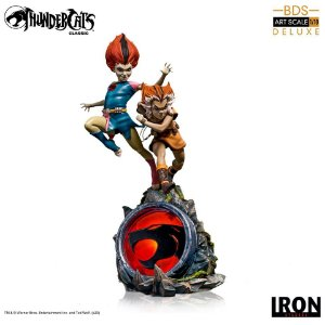RESERVA: WilyKit & WilyKat BDS Art Scale 1/10 Thundercats