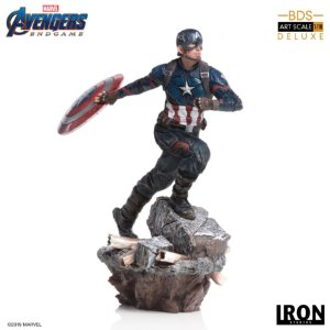 Captain America Deluxe Art Scale 1/10 Endgame Iron Studios