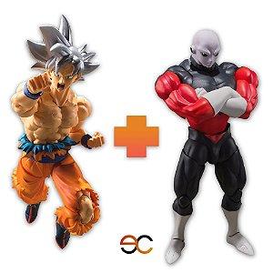 Goku Instinto Superior + Jiren - Dragon Ball Super - S.H.Figuarts - Bandai