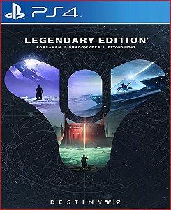 Destiny 2: Edição Lendária ps4 mídia digital