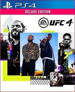 Ufc 4 Deluxe PS4 MÍDIA DIGITAL