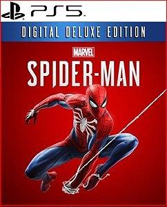 marvel's spider-man digital deluxe edition ps5 psn mídia digital