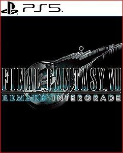 final fantasy vll remake intergrade ps5 psn mídia digital