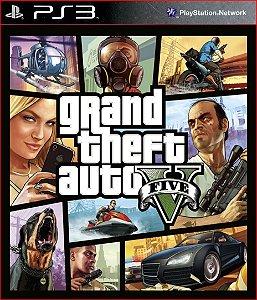 Grand Theft Auto V (GTA 5) PS3 psn Mídia Digital