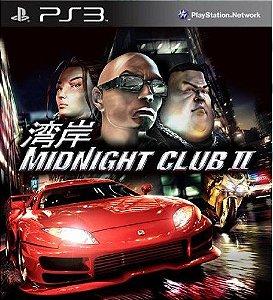 MIDNIGHT CLUB 2 PS3 MÍDIA DIGITAL