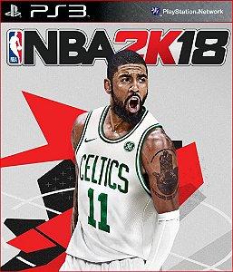 NBA 2K18 PS3 PSN MÍDIA DIGITAL