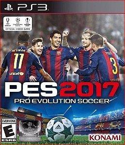 Pes 17 Pro Evolution Soccer 2017 Ps3 Mídia Digital Psn