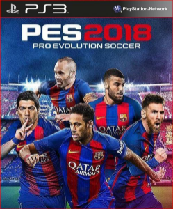 Pes 2018 pro evolution soccer 18 ps3 psn midia digital