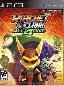 RATCHET & CLANK: ALL 4 ONE PS3 MÍDIA DIGITAL