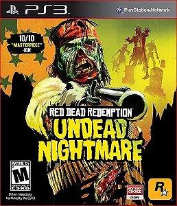 RED DEAD REDEMPTION + UNDEAD NIGHTMARE PS3 MÍDIA DIGITAL