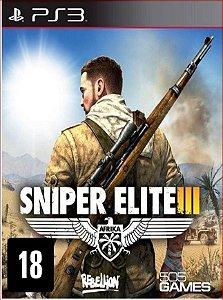 SNIPER ELITE 3 PS3 MÍDIA DIGITAL