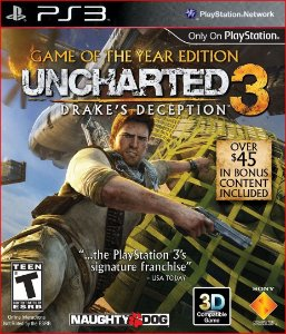 UNCHARTED 3: DRAKE'S  DECEPTION PS3 MÍDIA DIGITAL