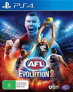 AFL Evolution 2 PS4 MIDIA DIGITAL