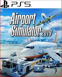 Airport Simulator 2019 PS5 Psn MÍDIA DIGITAL
