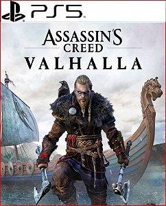 assassin's creed valhalla ps5 psn mídia digital