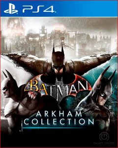 batman arkham collection português ps4 mídia digital