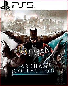 batman arkham collection PS5 psn mídia digital