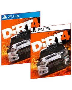 DIRT 4 PS4 E PS5 MÍDIA DIGITAL PSN