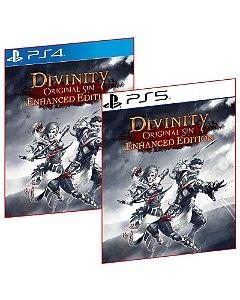 DIVINITY ORIGINAL SIN ENHANCED EDITION PS4 E PS5 MÍDIA DIGITAL PSN