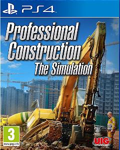 professional construction the simulation ps4 midia digital