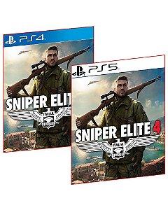 Sniper elite 4 PS4 E PS5 MÍDIA DIGITAL PSN