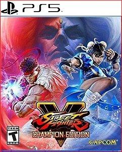 Street Fighter V Champion Edition PS5 psn midia digital