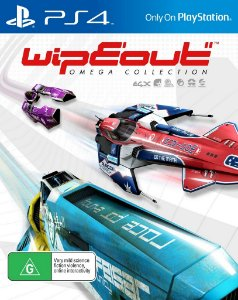Wipeout omega collection PS4 MIDIA DIGITAL