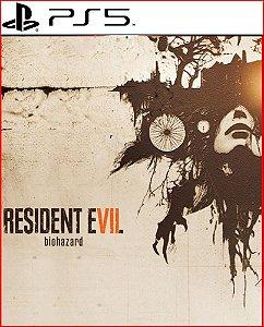 resident evil 7 biohazard ps5 psn mídia digital